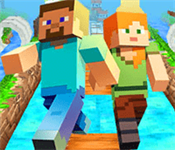 Play Minecraft Endless Run