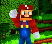 Play Minecraft Super Mario