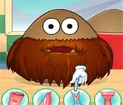 Play Pou Shave Time